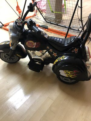 Electric motorcycle. . Also have tons of toys, clothes...... for Sale in Lemont, IL