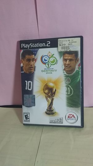 PS2 FiFa world cup Germany 2006 for Sale in Palatine, IL