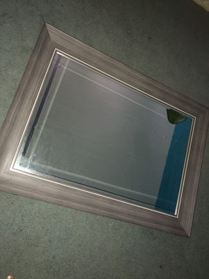 Large grey mirror for Sale in Columbus, OH