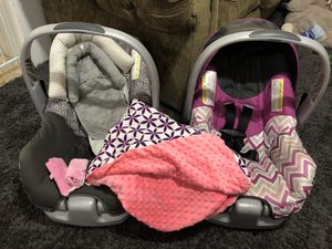 Car seats w/bases for Sale in Missoula, MT