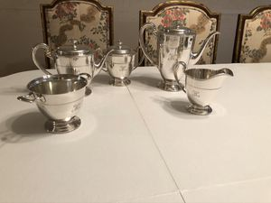 Tiffany & Co tea set sterling silver no. 17089a for Sale in Northbrook, IL