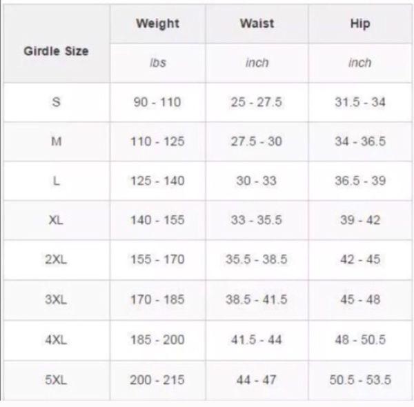 Fajate Body Shaper S,M,L,XL,2xl,3xl
