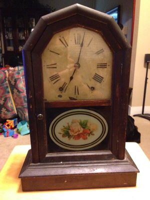 Antique windup clock for Sale in Malden, MA