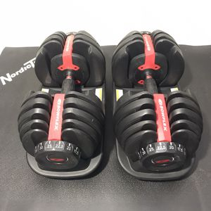 BOWFLEX 552 SELECT-TECH DUMBBELLS WEIGHTS•BARS•BENCH• for Sale in Las Vegas, NV
