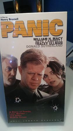 Panic VHS for Sale in Tracy,  CA