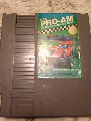 R.C. PRO-AM 32 tracks of racing and thrills NES for Sale in Woden, IA