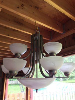 Chandelier Hanging Light for Sale in Preston, WA
