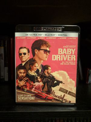 Baby Driver 4K/Blu-ray (Code Used) for Sale in Chicago, IL