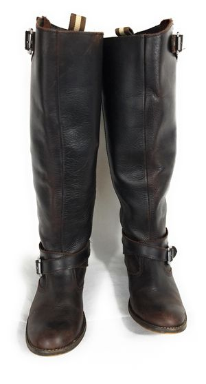 Aldo Saddle Boots Women's Brown Tall Leather Knee High - EU 39 (US 8.5) for Sale in Minneapolis, MN