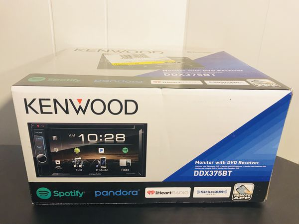 "Kenwood - 6.2"" Brand New-Built in Bluetooth-In-Dash DVD Receiver"
