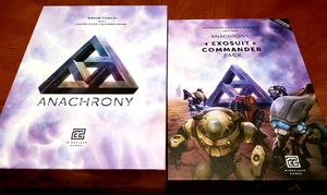 Anachrony Board Game with Exosuit Commander Expansion for Sale in Orlando, FL