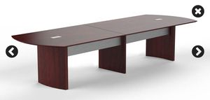 Mayline 12' Executive Conference Table (Mahogany) for Sale in WINCHESTR CTR, CT