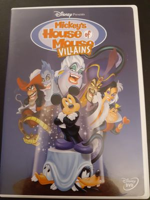 Disney's MICKEY'S HOUSE Of MOUSE VILLAINS (DVD) for Sale in Lewisville, TX
