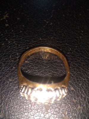 Gold ring 18 K GF and 8 k hoop for Sale in Anderson, SC