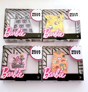 Barbie Sanrio Hello Kitty Shirts bundle for Sale in Humble, TX