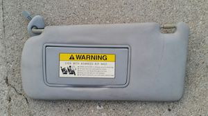 Acura TSX 2006 - 2008 drivers side gray sun visor with cap parts for Sale in Los Angeles, CA