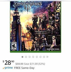 Xbox One - Kingdom Hearts III **brand new/sealed for Sale in Mukilteo, WA
