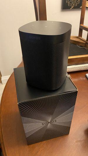 Sonos One (Black) for Sale in Pompano Beach, FL