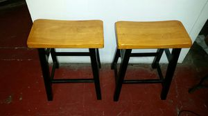 WOOD SADDLE STOOLS for Sale in San Diego, CA