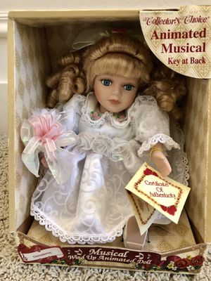 Musical collectors choice doll for Sale in Salt Lake City, UT