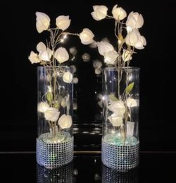Silk Flowers Glass Vases LED Lights for Sale in Herndon,  VA