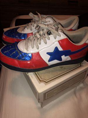 Used Bapestas Bape Bathing Ape Sneakers for Sale in Plano, TX
