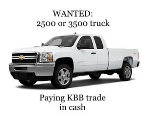 Looking to buy a 2500 or 3500 truck, Silverado, Ford, or Dodge Ram for Sale in MONTE VISTA, CA