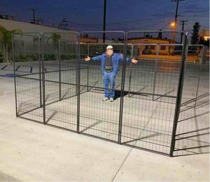 "New 72"" Tall x 32"" Wide Panel Heavy Duty 16 Panels Dog Playpen Pet Safety Fence Adjustable Shape and Space for Sale in Montebello, CA"