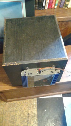 Optimus SW 14 Subwoofer with VR3 300 watt Amplifier. REDUCED NOW $34 for Sale in Palm City, FL
