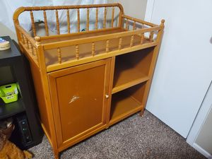 Baby changing table for Sale in Dallas, TX