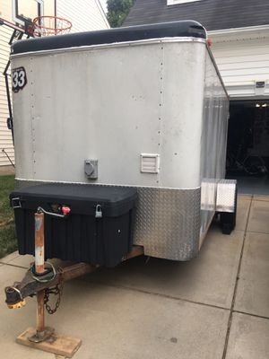 "2003 haulmark transport 6x12 enclosed camper trailer aka. "" incognito"" for Sale in Huntersville, NC"