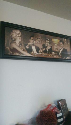 FOUR OF A KIND Legends glass framed for Sale in Alexandria, VA