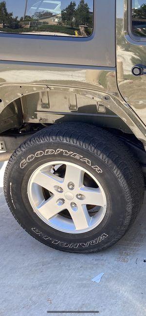 Jeep wheels for Sale in Jurupa Valley, CA