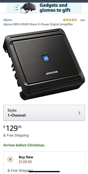 Alpine Amplifier for Sale in Downey, CA