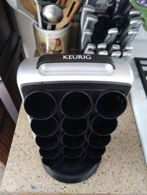 Keurig Black & Silver K-cup Carousel for Sale in Catonsville, MD