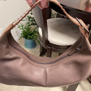 Kate Landry Chocolate Brown Leather Hand Bag for Sale in Kyle, TX
