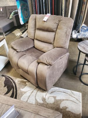 Fabric Rocker Recliner, Brown **ONE LEFT** for Sale in Westminster, CA