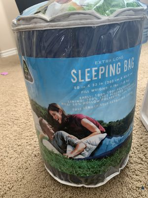 Extra Long Sleeping Bag for Sale in Murrieta, CA
