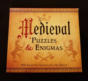 2013 Medieval Puzzles & Enigmas Game 150 Jousting Games For The Brain STERLING for Sale in Las Vegas, NV