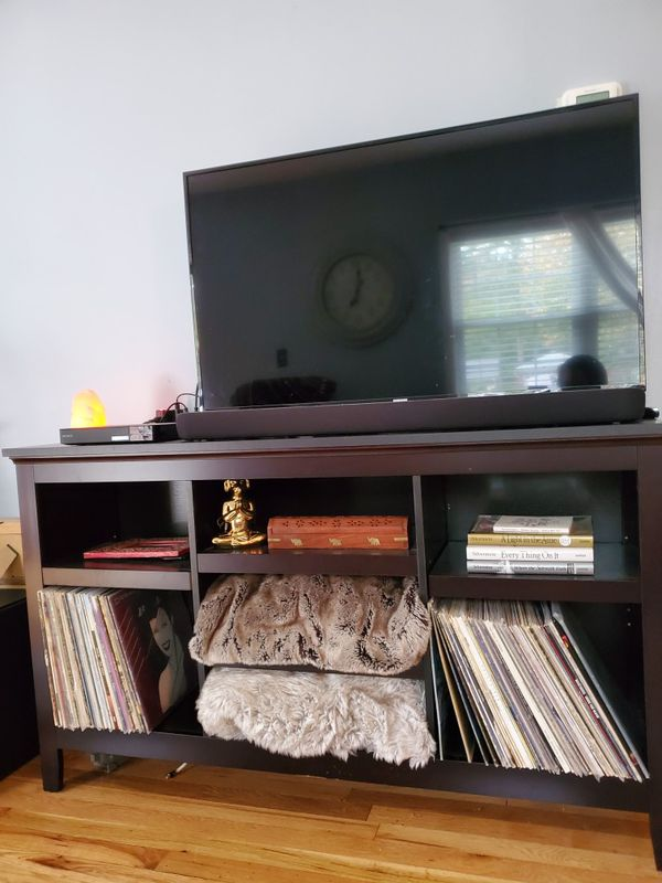 Tv stand, entertainment center