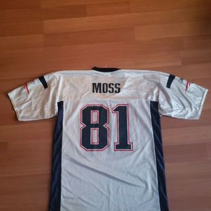 New England Patriots Randy Moss Reebok Jersey for Sale in Manchester, NH