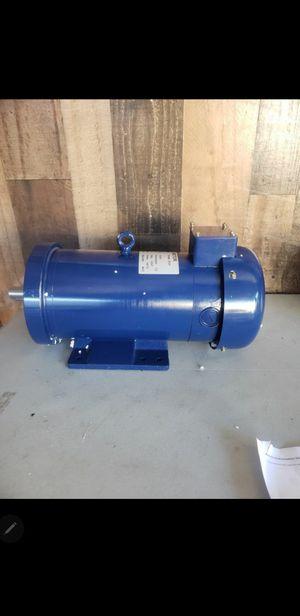 VEVOR 2HP DC Motor 1500W 145TC Frame Rated Speed 1750RPM TEFC Permanent Magnet 180V DC Motor for Sale in San Bernardino, CA