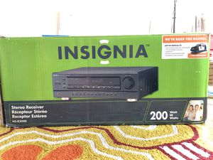 Insignia stereo receiver 200 Watts Ns-r2000 never used open box for Sale in Woodbridge, VA