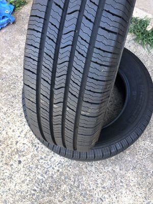Two Michelin tires 225/65R17 for Sale in Sterling, VA