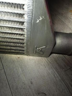 Ecs tuning front mount intercooler with charge pipes and boots for Sale in Gladstone, OR