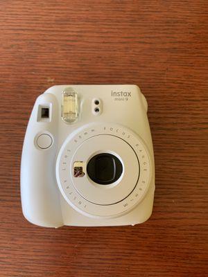 Fuji film insta max white camera for Sale in West Seneca, NY