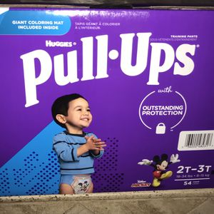 New Box Of 54 Pull-Ups Size 2T-3T For $18 firm On Price for Sale in Glendale, AZ