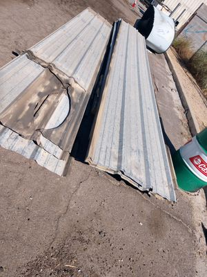 Metal roofing music 20 ft long I need to get $20 a piece for Sale in Phoenix, AZ