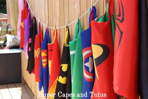 Party Pack of 5 Superhero Capes for Sale in La Mirada, CA
