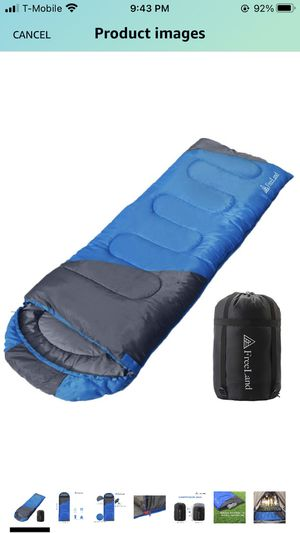 Sleeping bag camping outdoor compact waterproof for Sale in Bothell, WA